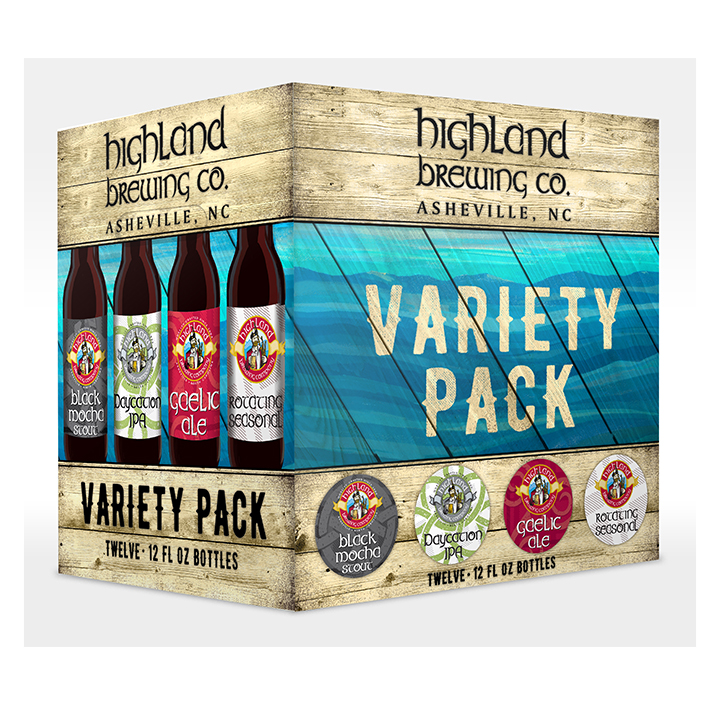 Highland Brewing Co Variety Pack